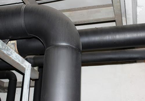 ВТЭЦ-2 Техпер-е тепловой изоляции трубопровода ТФН и ХОВ
