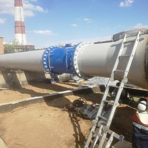 Техперевооружение узла учета расхода сетевой воды