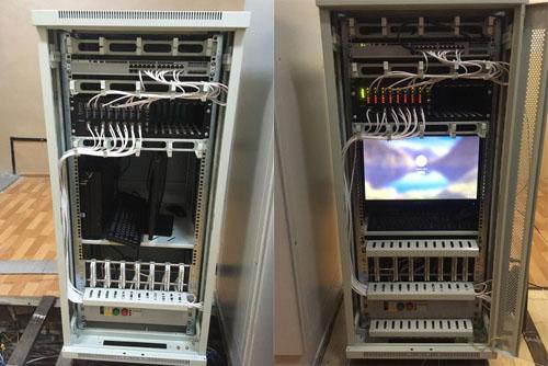 Замена коммутатора телефонной связи в здании ЦРП-2