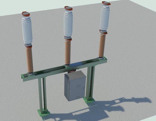 Волгоградская ТЭЦ-2. Замена маломасляного выключателя 110кВ на элегазовый