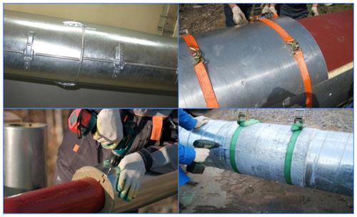 ВТС. Модернизация ТМ-21 от ТК-1 до 21ТК-11 (ВТС. Замена тепловой изоляции ТМ-21 от ТК-1 до 21ТК-11)