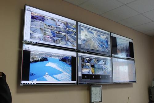 Организация видеостены проекционных моделей с диспетчерской ВТС